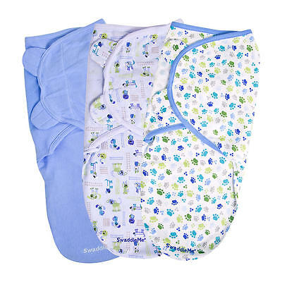 SwaddleMe 3 Pack Pooch Print - Small