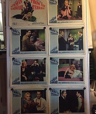 From The Terrace 11 X 14  Lobby Cards
