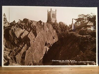 Postcard Of Church On The Rocks Woodhouse Eaves Leicester