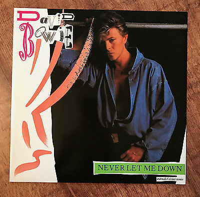 "David Bowie - Never Let Me Down 12"" Vinyl record 12EA 239 Single 45RPM"