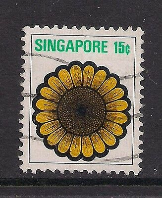 SINGAPORE 1973 15ct. Used stamp ( A1332 )