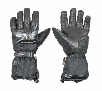 RST Thermotech Heated Waterproof Leather Motorcycle Gloves - Size XL (11) - BNWT