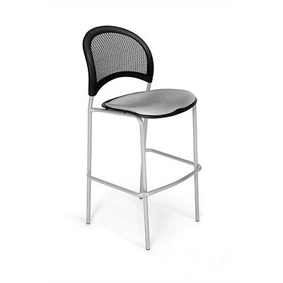 OFM Moon CafT Height Chair, Putty