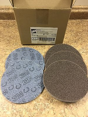 (25) - 3M -7 Inch Sanding Disc Hook Loop Surface Conditioning Duburring - COARSE