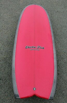 Brand new Electrofish Surfboards 5'4 Mini Simmons Quad Hybrid Surfboard