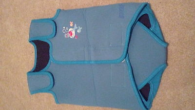 Zoggs swimming baby warmer size 6-12 months