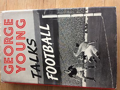 George Young Talks Football Signed 1st Edition Book