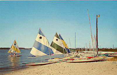 A Delightful Day On Rehoboth Bay On Delaware's Coast Unused Postcard