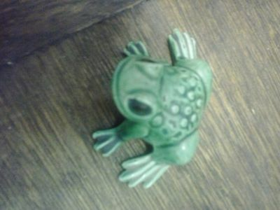duncan enterprises 1976 frog ornament