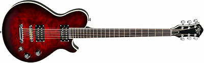 Michael Kelly Patriot Baritone Trans Red Burst