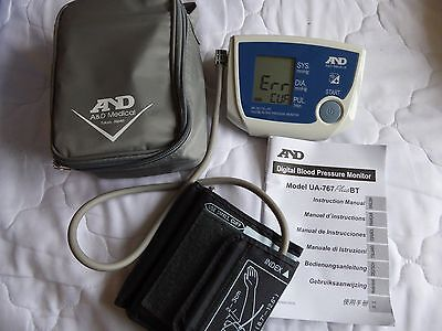 AND MEDICAL UA-&^& Plus BT - Digital Blood Pressure Monitor in Carry Case