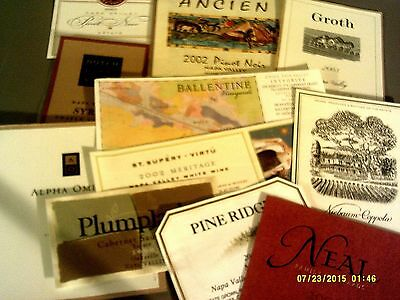 150 different NAPA's labels Lot C-5 (see list)