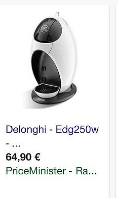 Machine cafe Dolce Gusto Delonghi