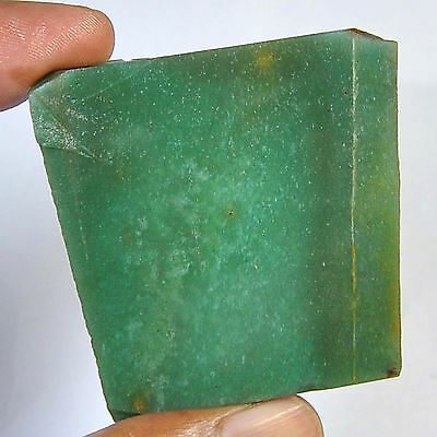 217.30 Cts 100%natural colombian green Nephrite Jede slice rough for gemstone