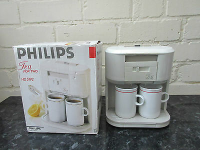 philips tea for two 5192 teasmade