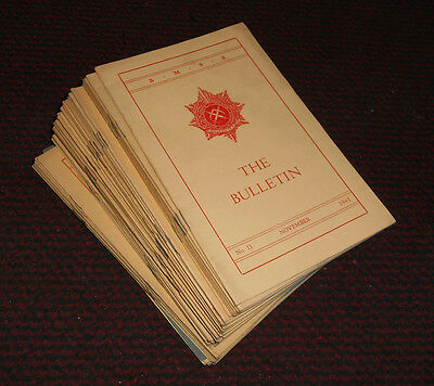 The British Model Soldier Society (B.M.S.S.) The Bulletin - 48 Issues 1957-1962
