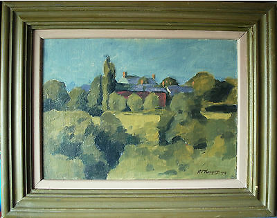 Original Oil Painting On Canvas on Board Alan James Thompson Signed & Dated 1978