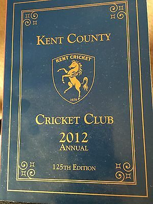 2012, 125th Edition, Kent Cricket Annual