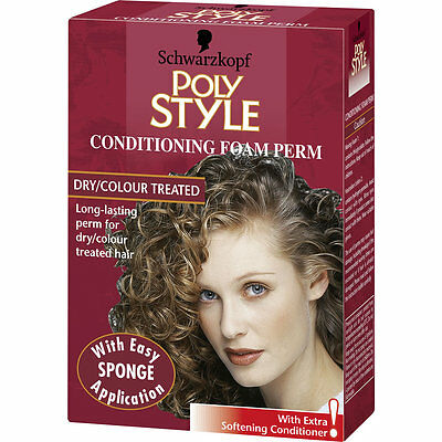 Schwarzkopf Poly Style Foam Perm Dry/Colour Treated Hair