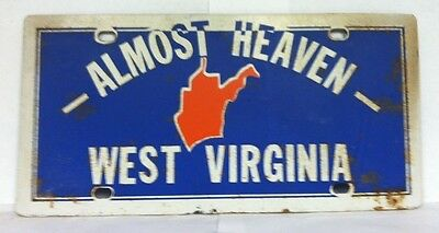 WEST VIRGINIA -Almost Heaven- Booster Plate