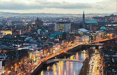 2 Return flight tickets - Liverpool to Dublin 21st to 24th March