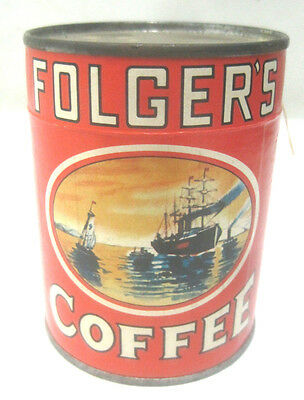 Vintage Folger's Coffee Jigsaw Puzzle Premium Giveaway Unopened c1950s
