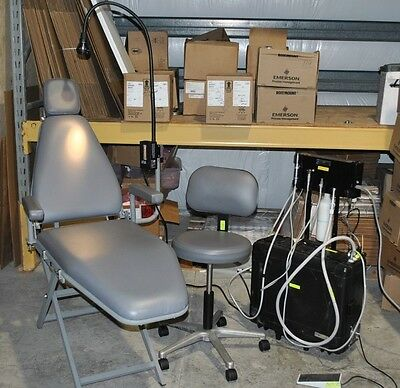 PORTABLE DENTAL CHAIR's & DELIVERY SYSTEM ~ DNTLworks ProSeal II~DENTIST A GOGO