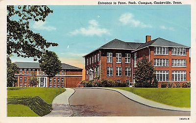 Tennessee Tech Campus Cookesville Tennessee TN 1947