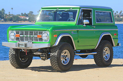 1974 Ford Bronco  1974 Ford Bronco Best of the Best 690 on Full frame Off and Stunning