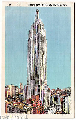 AK US USA Post Card Empire State Building New York
