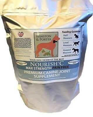 PAIN FREE Dog Joint Supplement MAX STRENGTH Unbeatable Prices **UK Manufacturer*