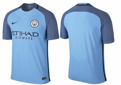 MANCHESTER CITY HOME Shirt 2016 / 2017 New Season  ADULT MENS Small