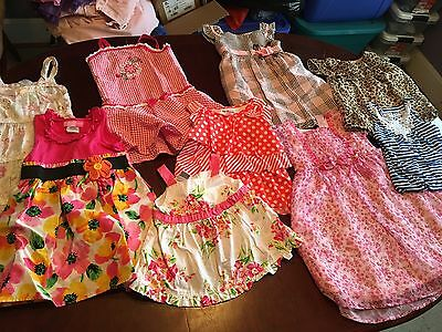 3t Girls Spring Clothes Dresses  Lot Of 9