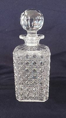 Superbe Carafe A Whisky Cristal Baccarat Annees 1900