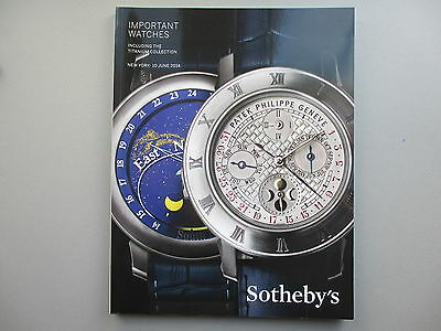 Important Watches Including Titanium Collection Sotheby's New York 10 June 2014