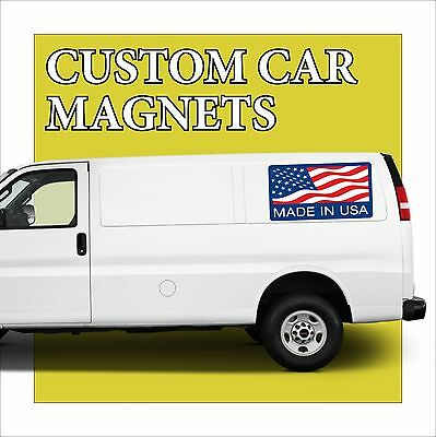 """1 - 24""""x48"""" Custom Car Magnets Magnetic Auto Truck Signs"""