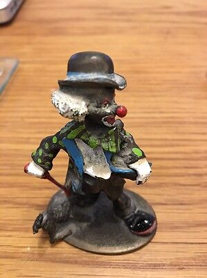 Pewter Happy Chappies Doggy Dan Clown By Mark Models