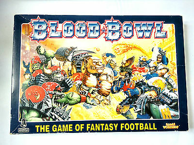CITADEL Warhammer BLOOD BOWL 4th Edition BOARD GAME - SEMI UNPUNCHED!