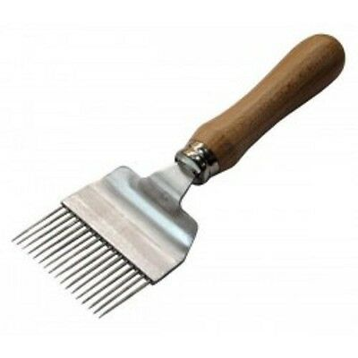 Wooden Handled Uncapping Fork - Bee Keeping Tool - Uncapping Forks - Bee Keeping