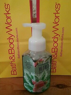 Bath and Body Works SPARKLING MINT BLOSSOM Gentle Foaming Hand Soap