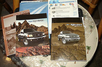 2004 Ford Ranger Owners Guide Manual Packet Set & Ford Case & Quick Reference