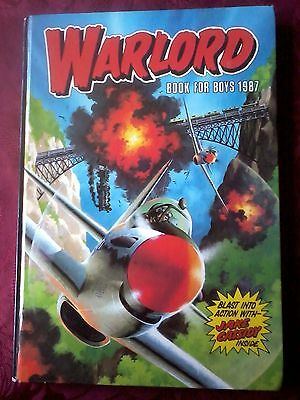 Warlord Book For Boys Annual 1987.