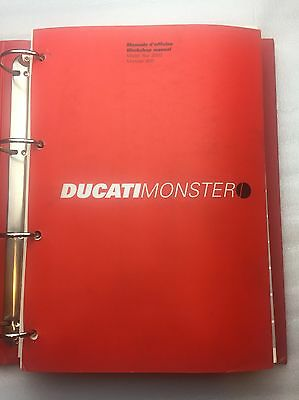 Ducati Monster 800 Workshop Manual 2003 914.7.042.1A Including 480 Pages