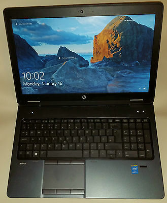 HP ZBook 15 Business Mobile Workstation (Core i7 2.9GHz, 8GB, 500 GB) Laptop FHD