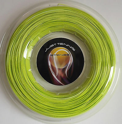 CO-POLY TENNIS STRING 1.25mm (16L / 8) x 200m ZITRO/LIME