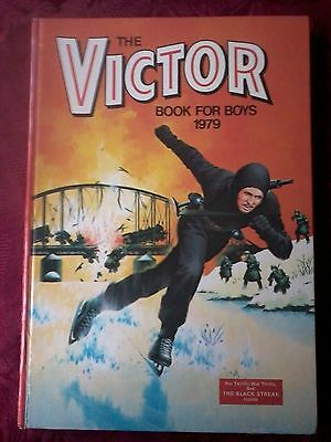 The Victor Book  For Boys Annual 1979.