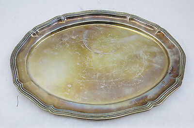 Sterling Silver 925 Oval Tray Nice 176 Grams