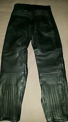 Belstaff mens motorcycle leather trousers. Size 32 waist