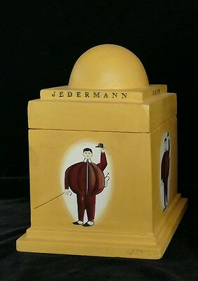 TWERGI Alessi 1994 Limited Fatman hand painted Memory box Sottsass not Corkscrew