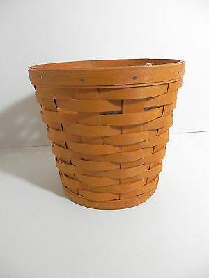 Longaberger 2015 Small Planter Sleeve - Warm Brown - Retired - New